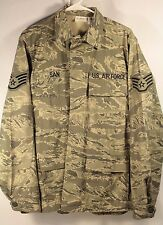 US Air Force Mens Size 42R Utility Jacket Tiger Stripe Digital Camo SAN Official