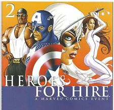 Heroes for Hire #2 Civil War with Captain America from Nov. 2006 in NM condition