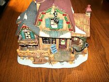 Harborside Village Limited Edition Collection Boat House Deluxe Porcelain House
