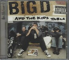 BIG D AND THE KIDS TABLE - HOW IT GOES - (still sealed cd c/w dvd) - MOON CD 079