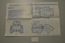 P149 gi joe blueprint french francais snow cat