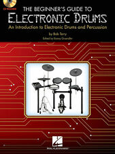 The Beginner's Guide to Electronic Drums Learn How to Play Lessons Book CD NEW