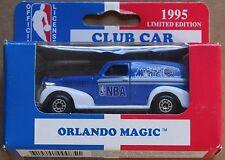 Rare 1995 Orlando Magic LE NBA Matchbox Club Car Collectible 39 Chevy Truck