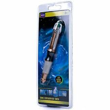 DOCTOR WHO SONIC SCREWDRIVER DR NEW OFFICIAL LED TORCH
