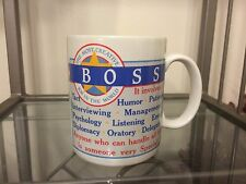 BOSS The Most Creative Job In The World Coffee Mug Cup By Papel Freelance Korea