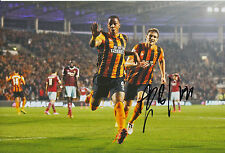 HULL CITY HAND SIGNED ABEL HERNANDEZ 12X8 PHOTO 2.