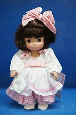 "Precious Moments 12"" Doll 4362 Name Your Own Doll Brunette 3rd Edition"
