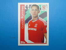 Topps Merlin's Premier League 2017 Sticker n.212 Gaston Ramirez Middlesbrough