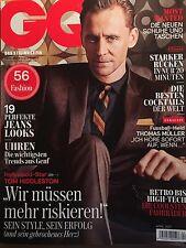 GQ Magazine Germany April 2017 Tom Hiddleston Thomas Muller Zayn Malik NEW