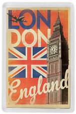 LONDON FRIDGE MAGNET SOUVENIR MOD. 8 - LONDRES IMAN NEVERA UNITED KINGDOM