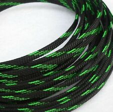 6mm Expandable Braided PET Cable Sleeving 3 weave High densely PC RC Modding