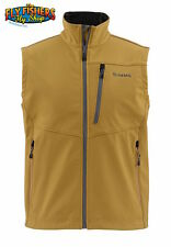 Simms WINDSTOPPER Vest - Honey Brown - XXL - NEW - DISCOUNTED