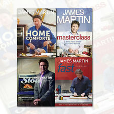 James Martin Food & Drink Books Collection 4 Books Set (Home Comforts,Fast) NEW