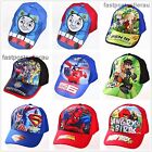 BN Kids Boys Toddlers Thomas Superman Sports Baseball Cap Hat Costume Accessory