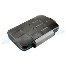 JJC Water-resistant Storage Memory Card Case For 4CF 2SD 2MicroSD 2MS Duo 2XD