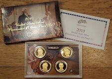2010-S US Mint Presidential Dollar Proof Set ~ COMPLETE w/ box & coa FREE SHIP!