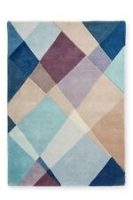 NEXT Wool Abstract Diamond Wool Rug