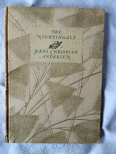 The Nightingale by Hans Christian Andersen Antique Hardback  ~ Illustrated~