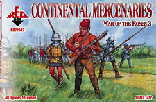 Red Box Models 1/72 WAR OF THE ROSES CONTINENTAL MERCENARIES Figure Set