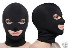 Spandex 3-Holes Face Ski Mask Open Eye Mouth Hood Opening Head Cover Balaclava