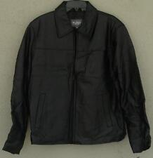Wilson Leather Men's Leather Jacket - Size Medium - Black - BRAND NEW WITH TAGS