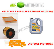 DIESEL OIL AIR FILTER KIT + LL 5W30 OIL FOR OPEL ASTRA 1.7 80 BHP 2004-07