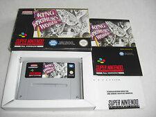 King Arthur`s World SNES Spiel komplett mit OVP und Anleitung