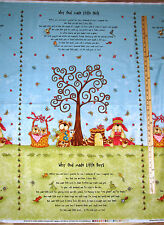 God Gave me You Religious Why God Made Little Boys & Girls Fabric Panel  23""