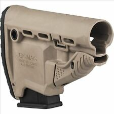 Mako FAB Defense GL-MAG TAN FDE Stock w Built-in Magazine Carrier + 10rd Mag
