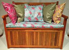 Monks Bench / Church Pew. Waterproof seat pad / Cushions / Table Cloth / Bunting