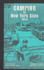 Camping in New York State 1972 Booklet Department of Commerce