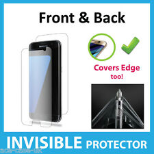 Samsung Galaxy S7 Edge INVISIBLE Screen Protector Shield Full FRONT AND BACK