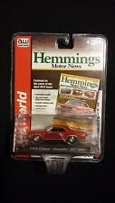 AW Auto World 1966 Chevy Chevelle SS 396 Red Hemmings Motor Die-Cast Classic Car