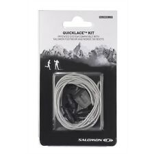 SALOMON  XT WINGS XA PRO QUICK LACES LACE KIT GREY QUICKLACE 326676
