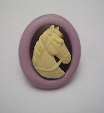 Horse Head Animal Silicone Mould, Sugarcraft, Cup Cake Topper, Fimo, Chocolate
