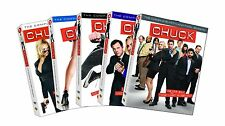 Chuck Complete Collection TV Series Season 1-5 DVD BOX SET Show Lot Episode Film