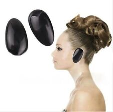 1 Pr Reusable Hair Dye Ear Covers Colour Colouring Plastic Shield Salon Styling