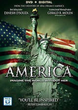 AMERICA Brand New DVD + DIGITAL COPY SEALED!  Ebay BEST PRICE + 40 Min Bonus!