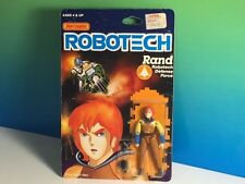 1985 MATCHBOX ROBOTECH ACTION FIGURE MOC ANIME MECHA RAND DEFENSE FORCE RARE NIB