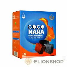 1x Box 120 Count ( Coconara Coco Nara Charcoal ) Hookah Shisha Coconut Coal
