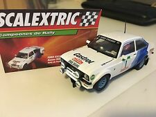 """SLOT FORD ESCORT RS 1800 """"RALLY PORTUGAL 1979"""" SCALEXTRIC"""