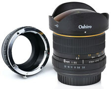 Oshiro 8mm Fisheye Lens for Sony a7r a7s a7 a6300 a6000 a5100 a3000 NEX 7 6 5 3