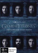 Game Of Thrones Season 6 Dvd FREE FAST POST-NEW & SEALED :)