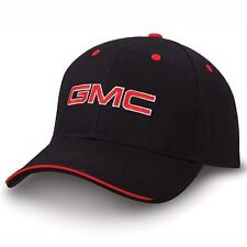 GMC Black and Red Sandwich Brim Hat