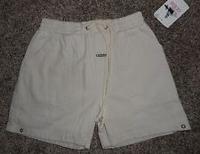 New Guess Infant Boys Shorts SMALL Size 18-24 Months ELASTIC WAIST STONE BEIGE