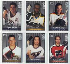 JOE JUNEAU WASHINGTON CAPITALS 1997-98 DONRUSS STUDIO PRESS PROOF SILVER #68