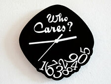 Who Cares? (Whatever) - Wall Clock