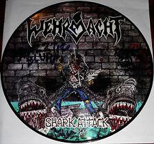 Wehrmacht - Shark Attack LP Picture Disc Vinyl Gatefold / New Re (2014) Thrash