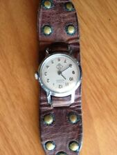 Vintage TIMEX 1960s CUB SCOUT wristwatch RARE boy scouts BSA pack wrist watch 60