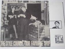THE STYLE COUNCIL -Our Favourite Shop- LP